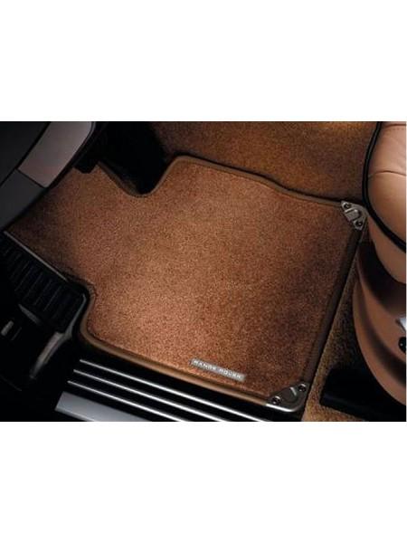 Велюровые ковры салона Nutmeg для Land Rover Discovery 3
