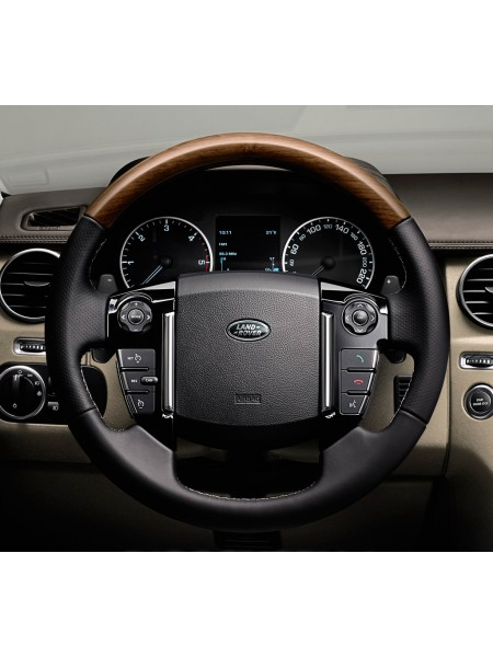 Рулевое колесо матовый шпон для Land Rover Discovery 4