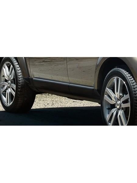 Молдинги нижние дверей для Land Rover Discovery 4