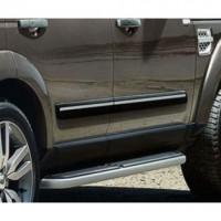 Боковые молдинги с отделкой Bright для Land Rover Discovery 4