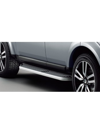 Боковые подножки ступень для Land Rover Discovery 4