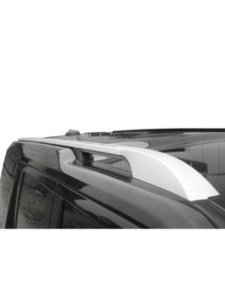 Продольные рейлинги Silver Long для Land Rover Discovery 4