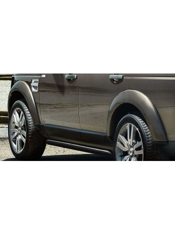 Боковые защитные трубы нержавеющая сталь для Land Rover Discovery 3