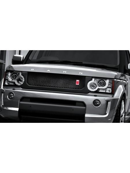 Передняя решетка RS с трехмерной сеткой от Kahn Design для Land Rover Discovery 4