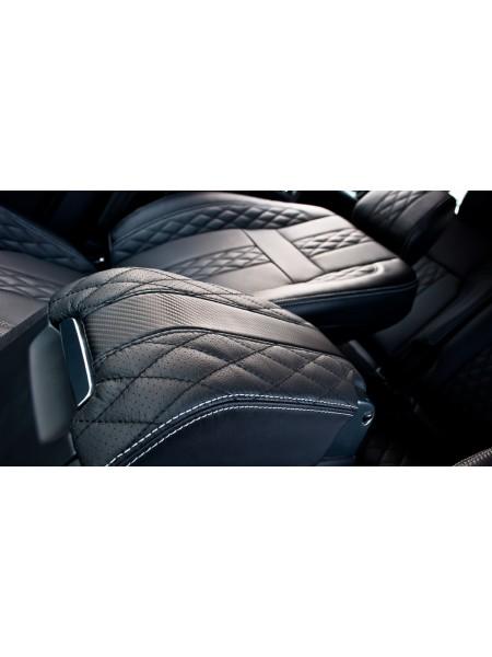 Центральное отделение для перчаток с кожаной обивкой от Kahn Design для Land Rover Discovery 4