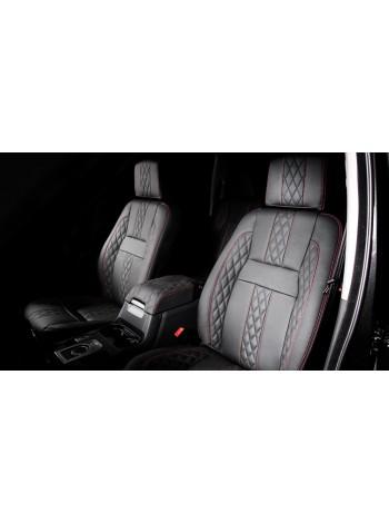 RS Кожаный салон - передние, средние и задние сиденья (7 мест) от Kahn Design для Land Rover Discovery 4