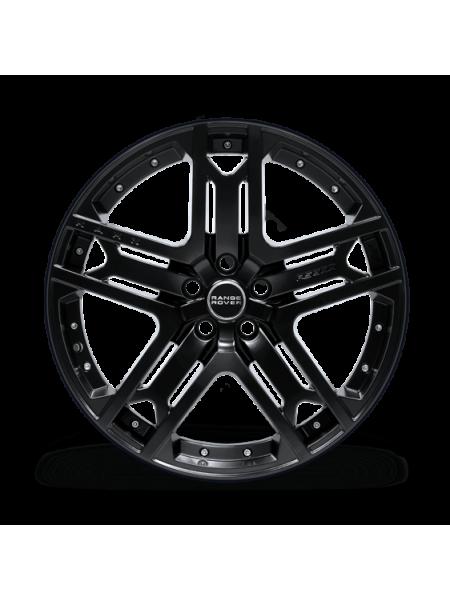 Литой диск RS 600 Matte Black от Kahn Design для Range Rover 2010-2012