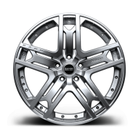 Литой диск RS 600 Silver Platinum от Kahn Design для Range Rover Sport