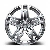 Литой диск RS 600 Silver от Kahn Design для Range Rover Sport