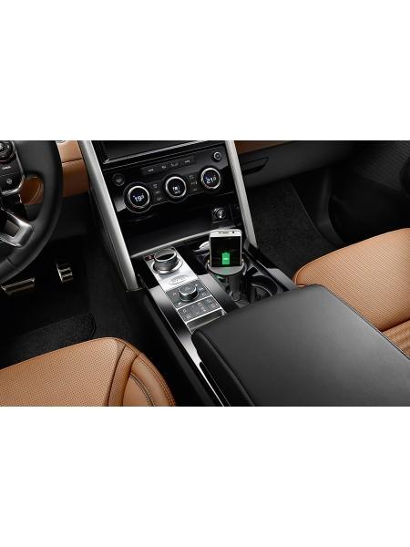 Подстаканник для беспроводной зарядки телефона для Land Rover Discovery 5 2017