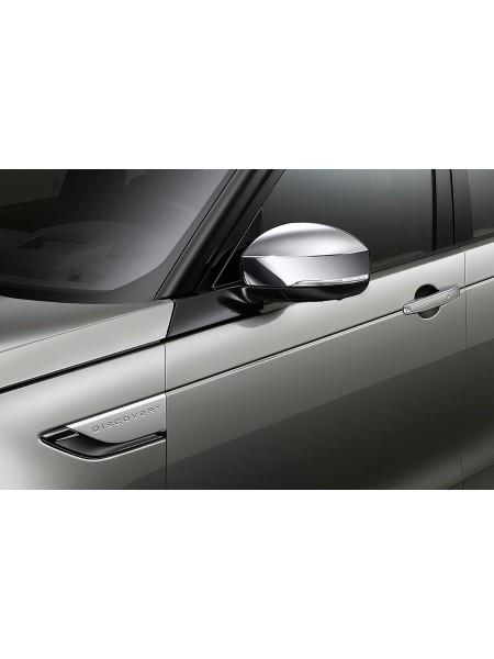 Набор крышек на корпус зеркала Chrome для Land Rover Discovery 5 2017