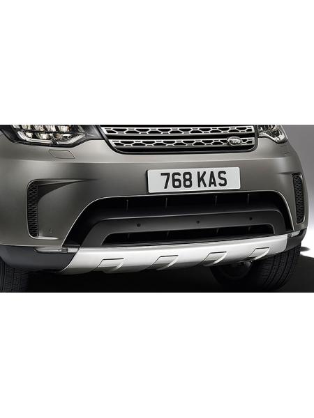 Накладка на передний бампер для Land Rover Discovery 5 2017 (из нержавеющей стали)