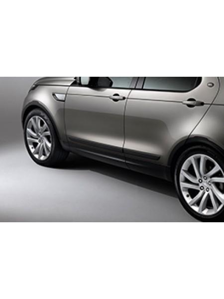 Боковые молдинги двери Black для Land Rover Discovery 5 2017