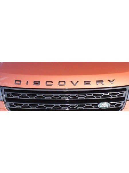 Надпись DISCO на капот для Land Rover Discovery 5 2017