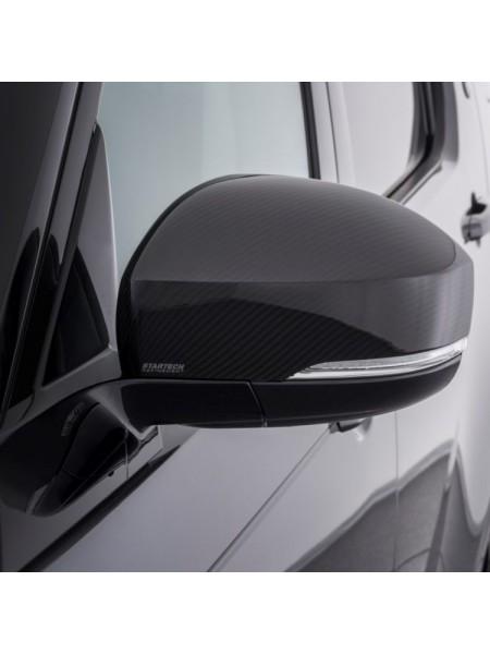 STARTECH Карбоновые накладки на зеркала для Range Rover Discovery 5