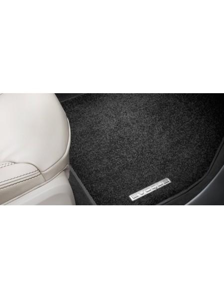 Велюровые ковры салона Ebony для Range Rover Evoque