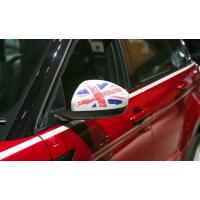 Комплект накладок зеркала цветной Union Jack для Range Rover Evoque