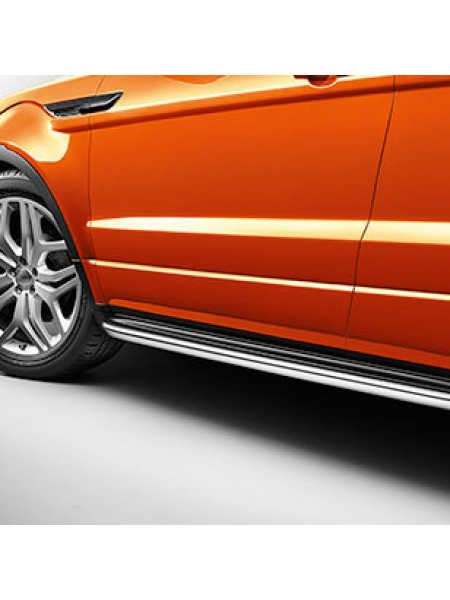 Боковые стационарные ступени для Range Rover Evoque