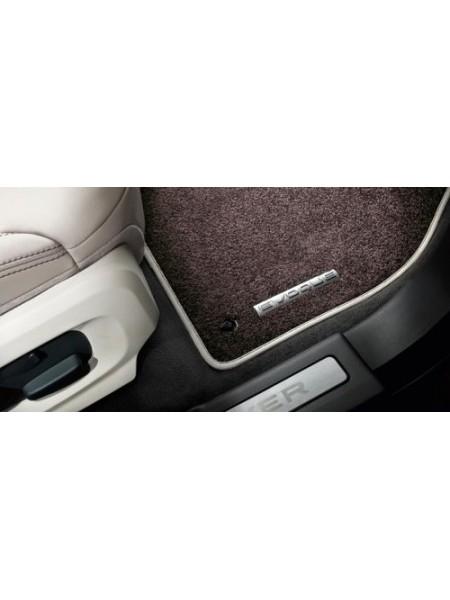 Велюровые ковры салона Espresso для Range Rover Evoque