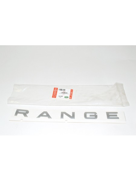Передняя надпись Range Atlas Silver для Range Rover Evoque 2015