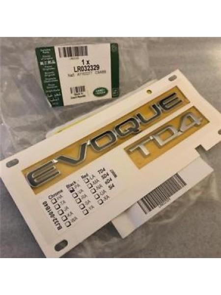 Надпись EVOQUE для Range Rover Evoque 2015