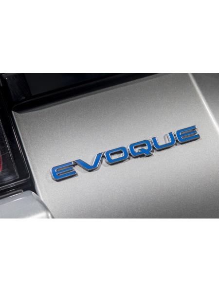 Задняя эмблема Evoque Blue для Range Rover Evoque 2015