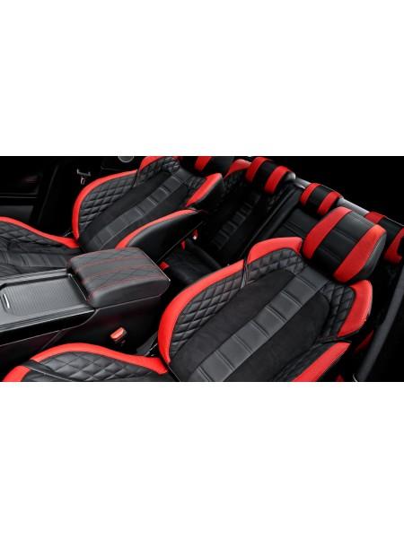 Кожаный салон RS (передние и задние сиденья) от Kahn Design для Range Rover Evoque