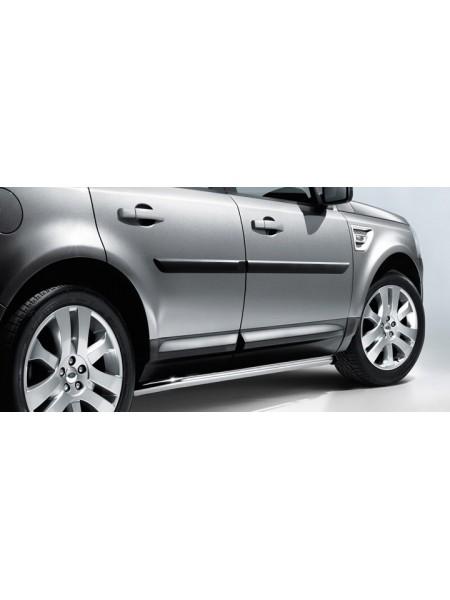 Боковая ступень нержавеющая сталь для Land Rover Freelander 2