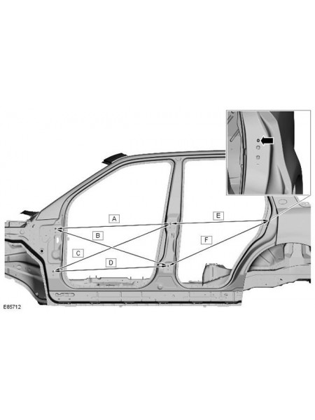 Боковая панель кузова для LandRover Freelander 2