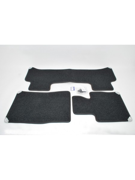 Комплект ковриков класса премиум, цвет Jet до 2010 для Range Rover 2002-2009
