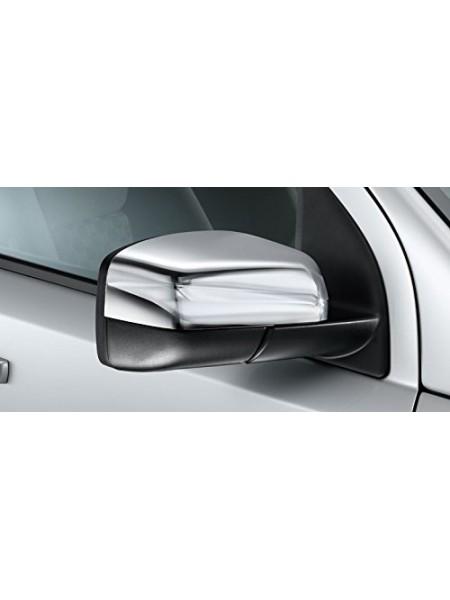 Хром накладки на зеркала, верхняя часть для Land Rover Discovery 3