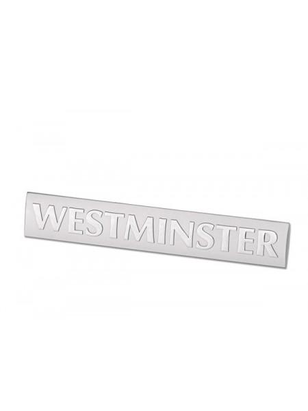 """Задняя паспортная табличка  """"Westminster"""" для Range Rover 2002-2009"""
