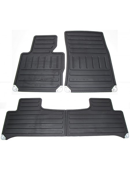 Резиновые ковры салона для Range Rover 2010-2012