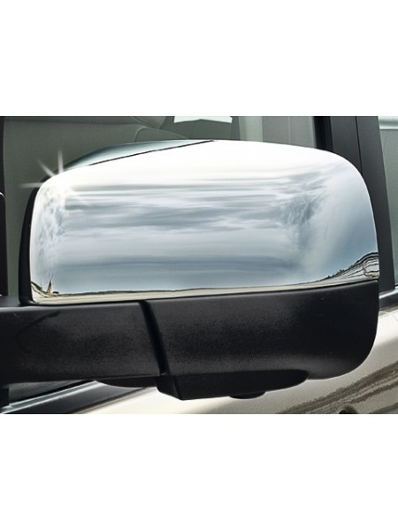 Накладки на корпус зеркала, Bright для Land Rover Discovery 3