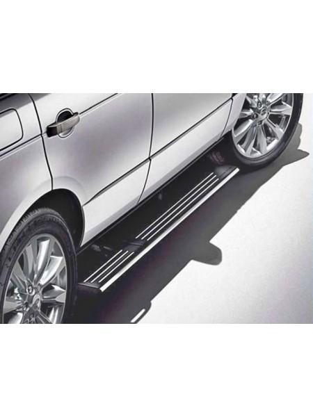 Подножки боковые выдвижные для Range Rover 2002-2009