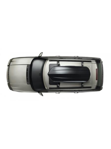 Багажный бокс на крышу багажника,  Black 320 L  для Land Rover Discovery Sport 2015