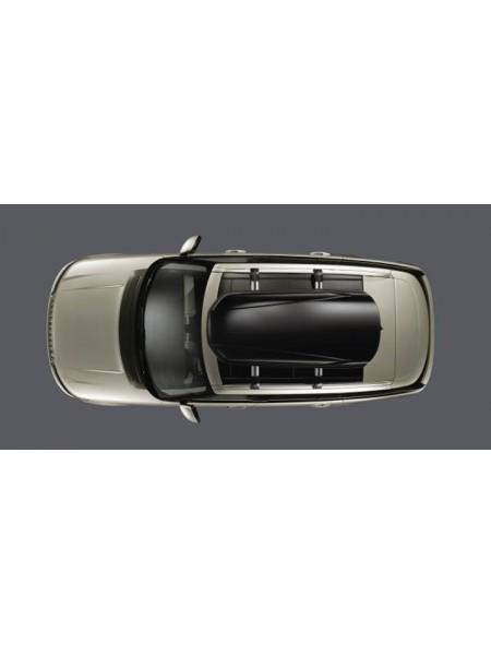 Багажный бокс на крышу багажника,  Gloss Black 410 для Land Rover Discovery Sport 2015