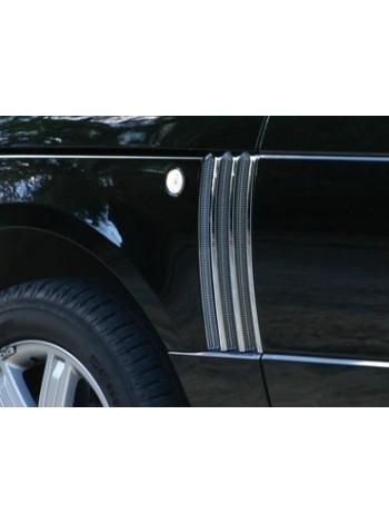 Боковые решетки с отделкой Bright для Range Rover 2002-2009