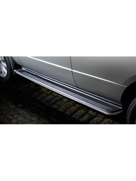 Боковые стационарные подножки, пороги ступень для Range Rover 2010-2012