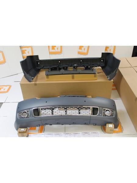 Комплект переднего и заднего бамперов 4.4 Diesel для Range Rover 2010-2012