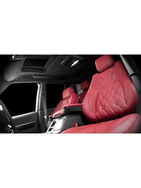 Кожаный салон Dorchester (передние и задние сиденья) от Kahn Design для Range Rover L405