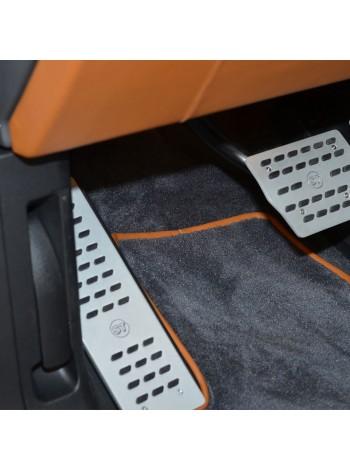 STARTECH Алюминиевая площадка для левой ноги для Range Rover Evoque 2010-2012