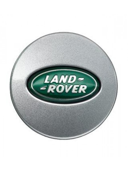 Колпачок диска Sparkle Silver, Green для Land Rover Freelander 2