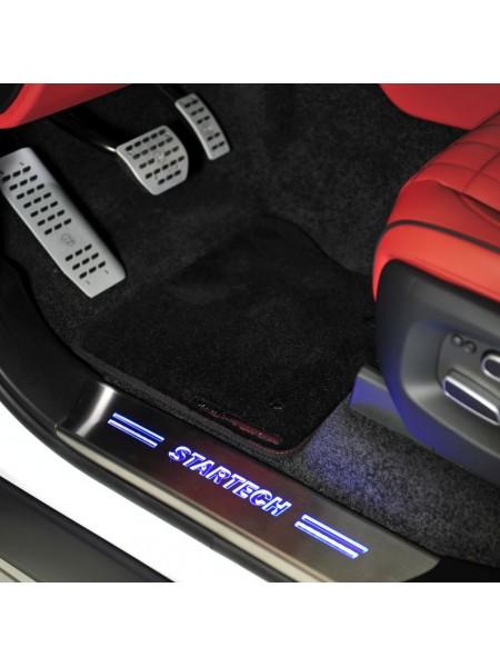 Коврики салона с логотипом STARTECH для Range Rover 2013-2017