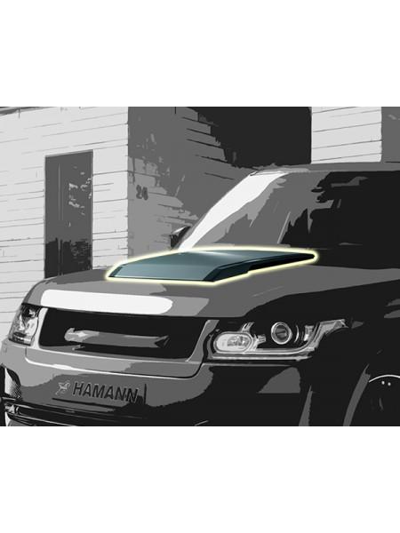 Накладка на капот HAMANN Mystere для Range Rover