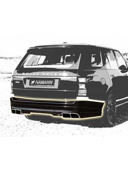 Глушитель HAMANN для Range Rover 4.4l SDV8 TURBODIESEL
