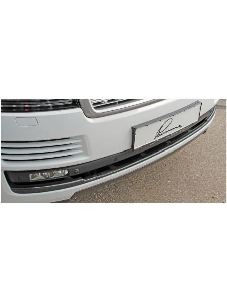Накладка на передний бампер Lumma для Range Rover