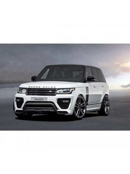 Комплект порогов Caractere для Range Rover L405