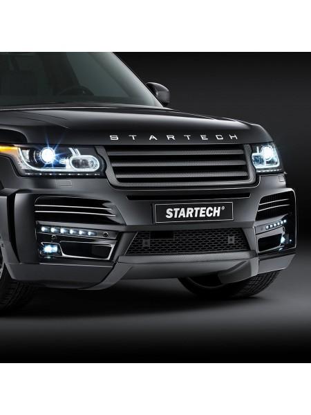 STARTECH Карбоновый диффузор переднего бампера для Range Rover 2013-2017