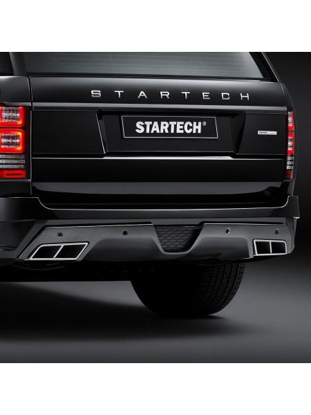 STARTECH Задний бампер с карбоновым диффузором для Range Rover 2013-2017